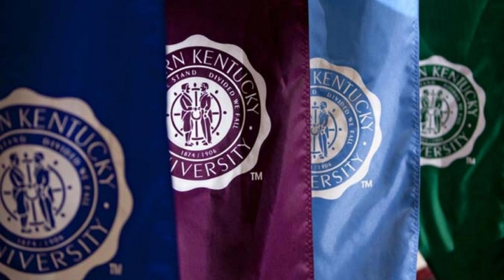 Image of EKU Flags