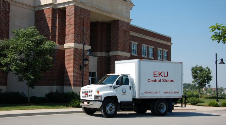 Image of Central Stores Delivery Truck