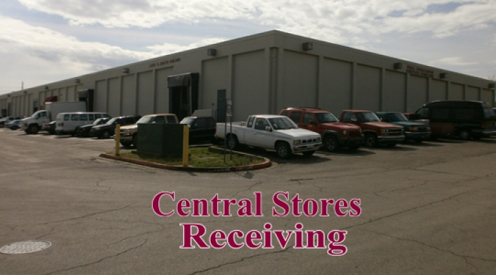 Image of Central Stores Warehouse at Larry O. Martin Building