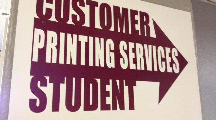 Image of Campus Printing Services
